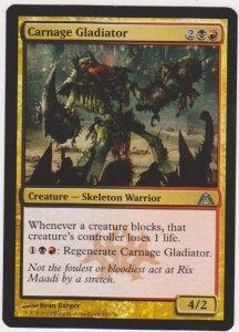 Magic the Gathering: Dragon Maze - Carnage Gladiator