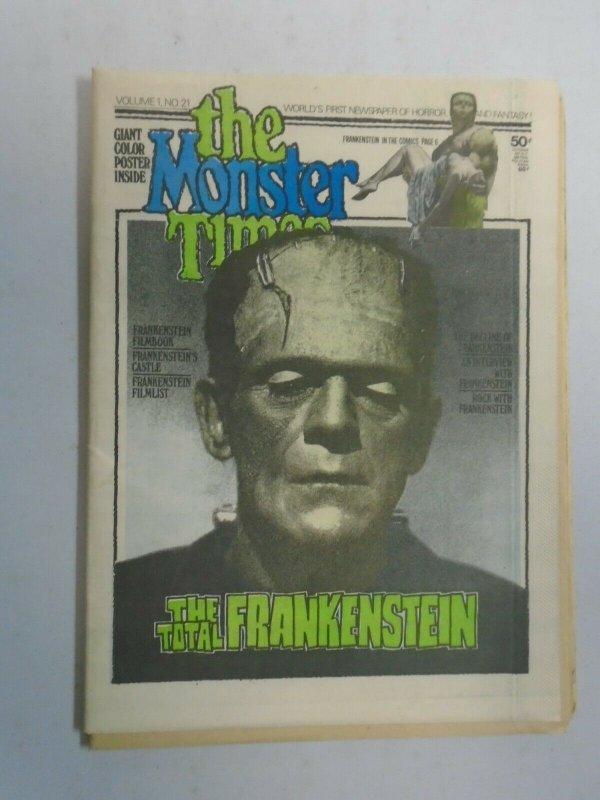 Monster Times #21 6.0 FN (1973 Monster Times Publishing)