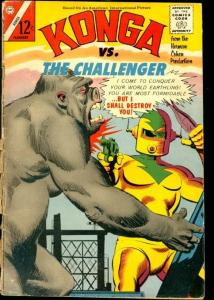 Kong #21 1965- Charlton Comics- The Challenger FAIR/GOOD