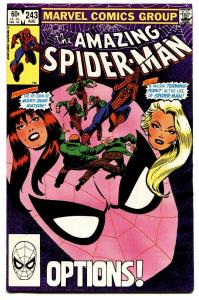 AMAZING SPIDER-MAN #243 comic book-1983-MARVEL Mary Jane Watson
