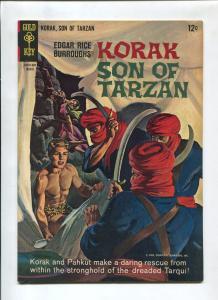 KORAK SON OF TARZAN #7 1965-GOLD KEY-RUSS MANNING-FN