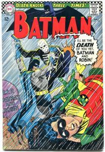 Batman #180-1966-DC Silver Age - Death issue! Cool!!! FN+