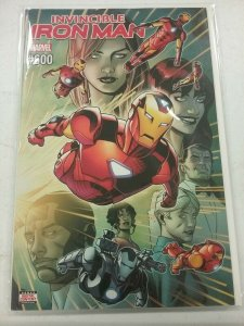 INVINCIBLE IRON MAN #600 MARVEL comics NM 2018 First Print NW47