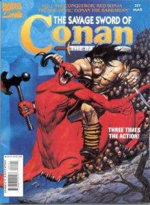 Savage Sword of Conan (1974 series) #231, VF+ (Stock photo)