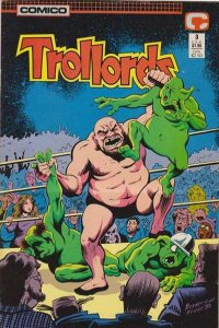 Trollords (1988 series) #3, NM- (Stock photo)
