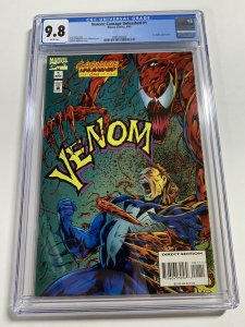 Venom Carnage Unleashed 1 Cgc 9.8 White Pages Marvel