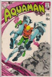 Aquaman #52 (Aug-70) FN/VF Mid-High-Grade Aquaman, Aqualad