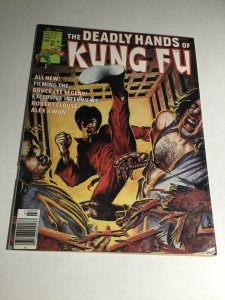 The Deadly Hands Of Kung Fu 26 Vf+ Very Fine+ 8.5 Magazine