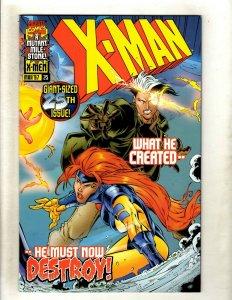 Lot of 12 X-Man Marvel Comic Books #25 26 27 28 29 30 31 32 33 34 35 36 GK49