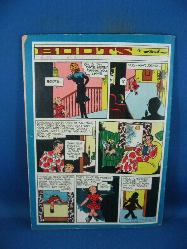 RED RYDER COMICS 25 VG+ ALLEY OOP KING OF THE RCMP 1945