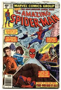 AMAZING SPIDER-MAN #195-2nd appearance BLACK CAT-1979
