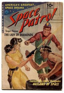SPACE PATROL #1 comic book-1952-ZIFF DAVIS-NORMAN SAUNDERS-BERNIE KRIGSTEIN VG+