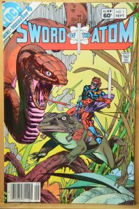 Sword of the Atom #1 (1983) Gil Kane art !!