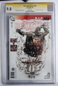 Batman Detective Comics 846, Dustin Nguyen signiture
