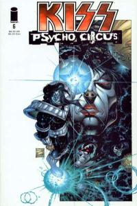 Kiss: The Psycho Circus #6, NM (Stock photo)