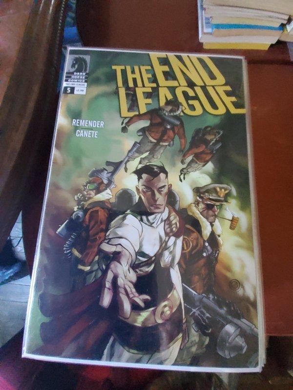 The End League #5 (2008)