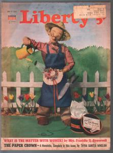 Liberty 3/7/1941- pre WWII era issue-Amos 'n' Andy-Ann Sheridan-pulp fiction-VG