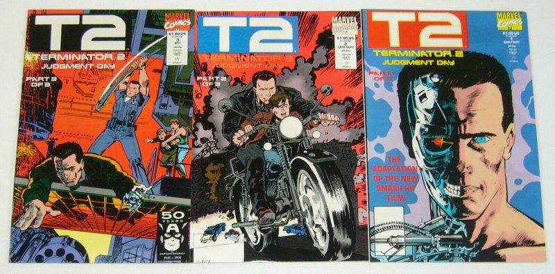 Terminator 2: Judgment Day #1-3 VF/NM complete series ARNOLD SCHWARZENEGGER 2