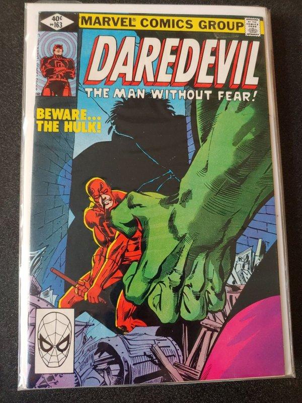 DAREDEVIL #163 VS. THE HULK