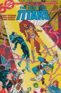 New Teen Titans, The (2nd Series) #14 VF/NM; DC | save on shipping - details ins