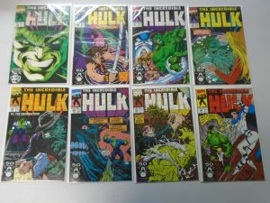 Incredible Hulk lot 46 different from #350-400 avg 8.0 VF (1988-92 1st Series)