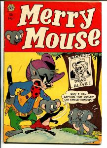 Merry Mouse #1 1953-Avon-1st issue & appearance-Frank Carin-rare!!-FN
