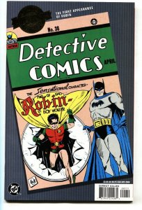 MILLENNIUM EDITION: DETECTIVE COMICS #38 comic book 2000 1st ROBIN