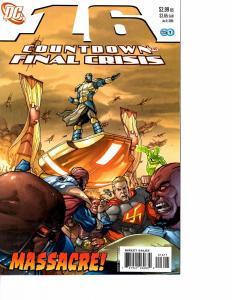 Lot Of 5 Countdown Final Crisis DC Comic Books #16 15 14 13 12 J69
