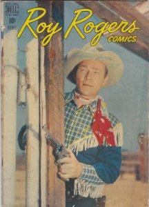 Roy Rogers Comics 4 VG-/VG (Apr. 1948)