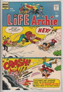 Life with Archie #130 (Feb-73) NM- High-Grade Archie, Jughead, Betty, Veronic...