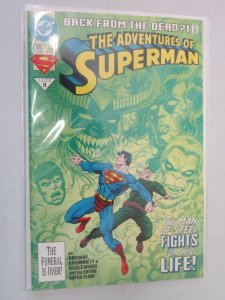 The Adventures of Superman #500 8.0 VF (1993)