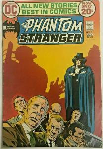 PHANTOM STRANGER#21 FN/VF 1970 DC BRONZE AGE COMICS