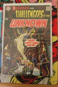 Challengers of the Unknown#74 (DC, 1970) Condition VG/FN
