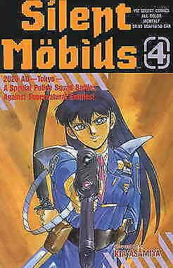 Silent Möbius Part 1 #4 VF/NM; Viz | save on shipping - details inside