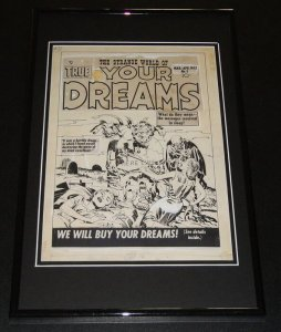 Strange World of Your Dreams Framed 11x17 Photo Display Official RP Jack Kirby