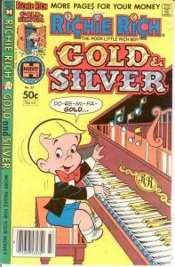 RICHIE RICH GOLD & SILVER (1975-1982) 37 VF-NM COMICS BOOK