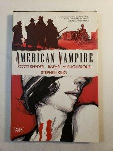 AMERICAN VAMPIRE VOL.1  SCOTT SNYDER STEPHEN KING HARD COVER GRAPHIC NOVEL