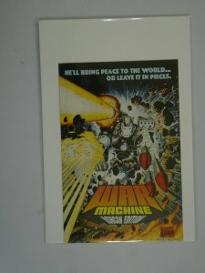 War Machine #1 Ashcan edition 6.0 FN price tag on rear (1994 1st Series)