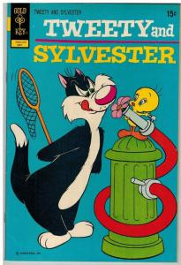 TWEETY & SYLVESTER (1963-1984 GK/WHIT) 24 F-VF May 1972