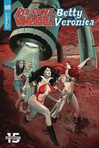 RED SONJA VAMPIRELLA BETTY VERONICA (2019 DYNAMITE) #8 9 Covers PRESALE-01/29
