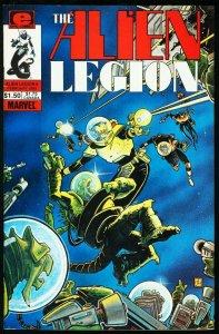 ALIEN LEGION #6-MARVEL/EPIC COMICS-FRANK CIROCCO NM