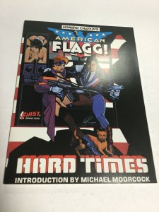 American Flagg! Hard Times SC Softcover Oversized First Graphic Novel
