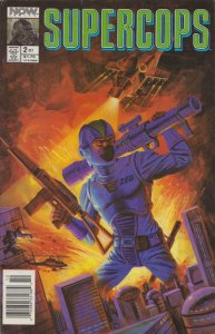 Supercops #2 (Newsstand) VG; Now   low grade comic - save on shipping - details