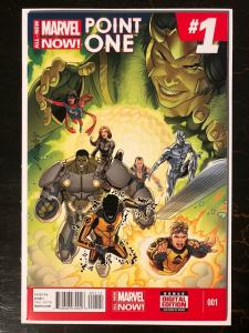All-New, All-Different Point One #1 1st Full New Ms. Marvel (Kamala Khan)