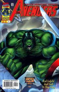 Avengers (1996 series) #4, NM + (Stock photo)