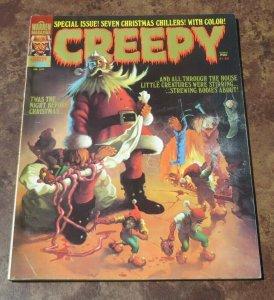 Creepy #68 FN+ 1975 Warren Horror Magazine Special Christmas Chillers Evil Santa