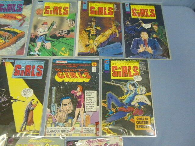 The Trouble With Girls Comic Books Malibu Eternity Epic + Heavy Hitters MINT