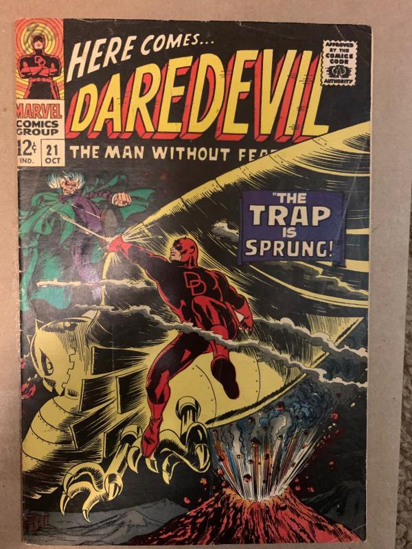 Daredevil (1964) 21 Fine (6.0)  3rd Apparence Owl