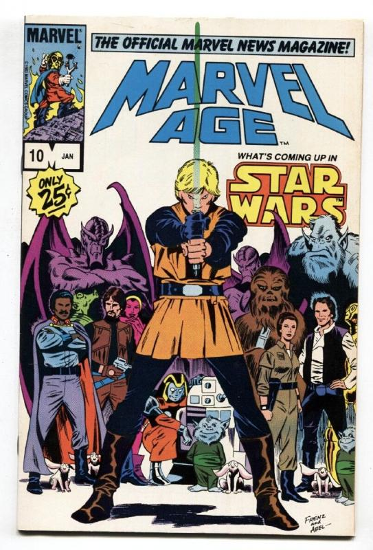 Marvel Age #10-1984-STAR WARS-comic book
