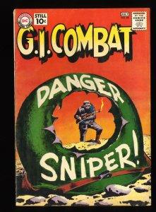 G.I. Combat #88 VG 4.0 2nd Haunted Tank Story!
